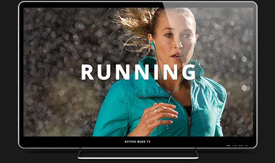 running technology tv