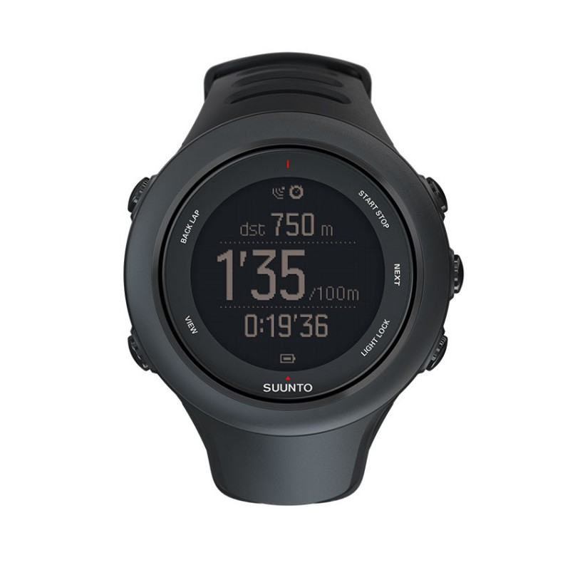 SUUNTO AMBIT3 SPORT WATCH BLACK