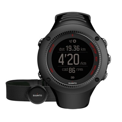 SUUNTO AMBIT3 RUN WATCH BLACK (HR)